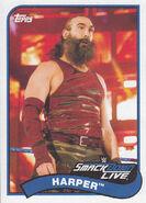 2018 WWE Heritage Wrestling Cards (Topps) Harper 114