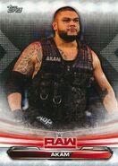 2019 WWE Raw Wrestling Cards (Topps) Akam 1