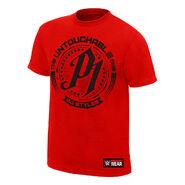 AJ Styles Untouchable Red T-Shirt