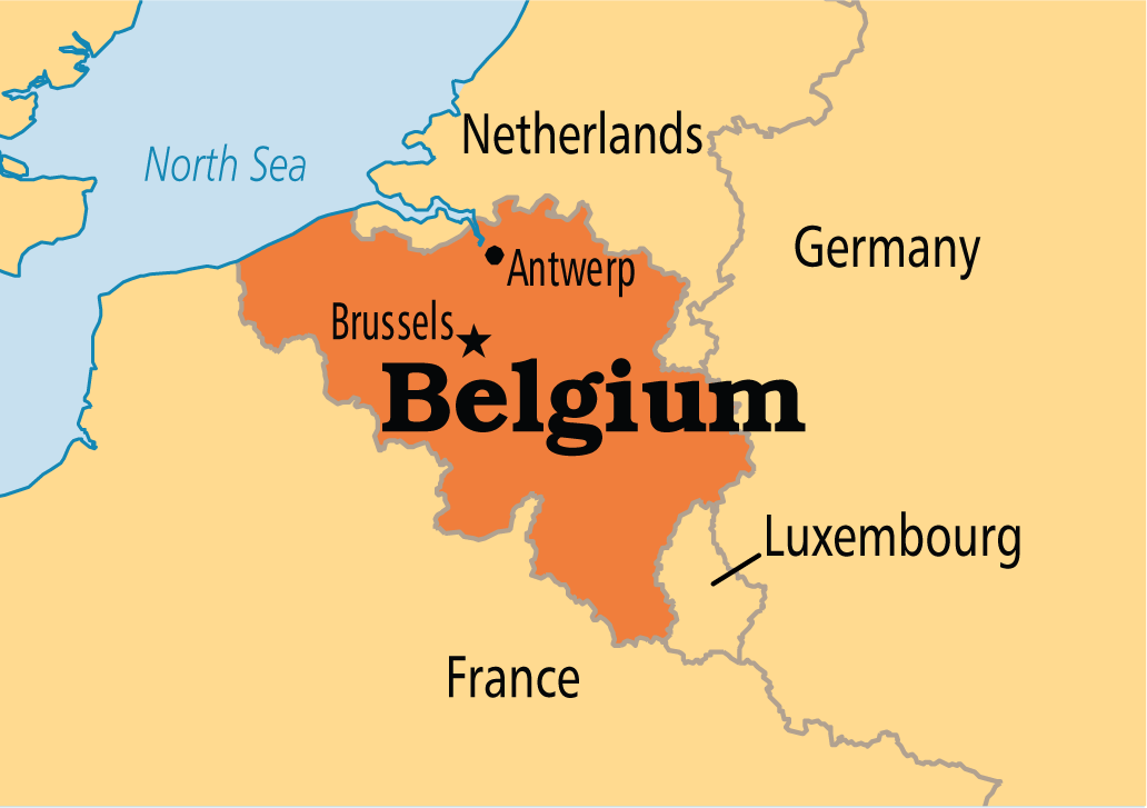 belgium mappng