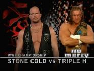 Stone Cold vs. Triple H No Mercy 1999