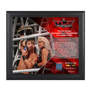 The Miz TLC 2016 15 x 17 Framed Plaque w Ring Canvas