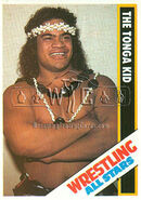1985 Wrestling All Stars Trading Cards The Tonga Kid 48