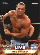 2013 TNA Impact Wrestling Live Trading Cards (Tristar) Wes Brisco 82