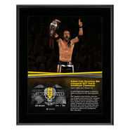 Adam Cole NXT TakeOver New Orleans 10 x 13 Photo Plaque