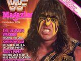 WWF Magazine - November 1989