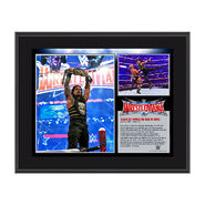 Roman Reigns WrestleMania 32 10 x 13 Photo Collage Plaque