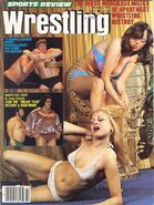 Sports Review Wrestling - October 1977