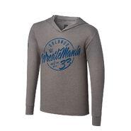 WrestleMania 33 Pullover Light Grey Hoodie