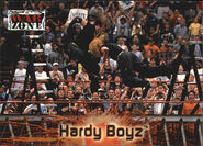 2001 WWF RAW Is War (Fleer) Hardy Boyz 76