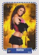 2008 WWE Heritage IV Trading Cards (Topps) Maria 65