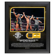 Broserweights NXT TakeOver Portland 15 x 17 Limited Edition Plaque