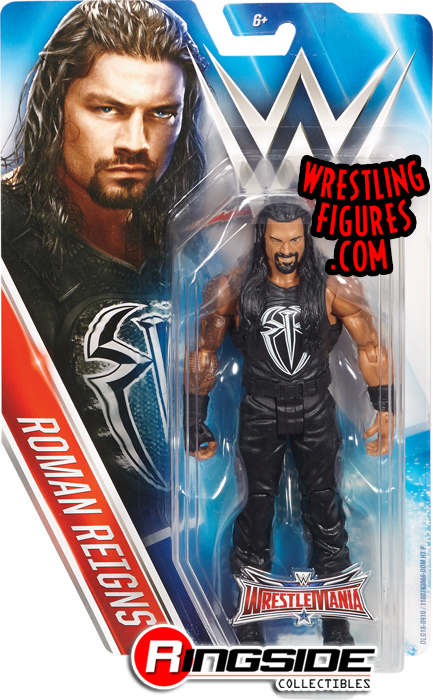 ROMANO Reigns-Elite Series-WWE Mattel Wrestling Figure