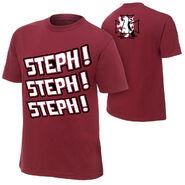 Stephanie McMahon Steph Steph Steph T-Shirt