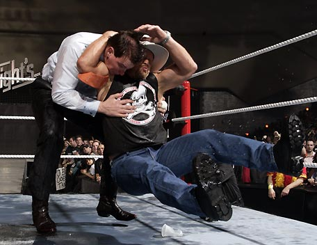 Austin Performing The Stone Cold Stunner