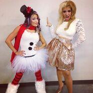 17 - Alexa Bliss and Raquel Diaz