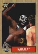 2008 WWE Heritage III Chrome Trading Cards Kamala 85