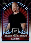 2011 Topps WWE Classic Wrestling Stone Cold Steve Austin 63