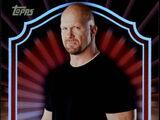 2011 Topps WWE Classic Wrestling Stone Cold Steve Austin (No.63)