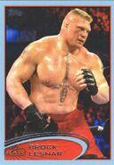 2012 WWE (Topps) Brock Lesnar 5