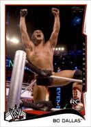 2014 WWE (Topps) Bo Dallas 4