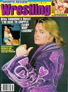 Sports Review Wrestling - March 1982