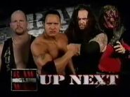 Stone Cold Steve Austin & The Rock vs Undertaker & Kane