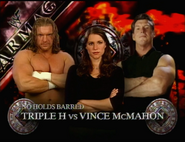 Triple H vs. Vince McMahon Armageddon 1999