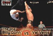 2001 WWF RAW Is War (Fleer) Billy Gunn vs. Val Venis 52