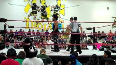 Harry (DH) Smith and Eric Watts vs. Midnight Delight