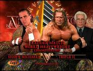 Shawn Michaels vs. Triple H Armageddon 2002