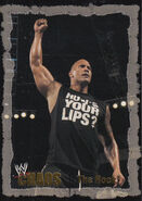 2004 WWE Chaos (Fleer) The Rock 43