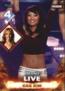 2013 TNA Impact Wrestling Live Trading Cards (Tristar) Gail Kim 7