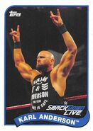 2018 WWE Heritage Wrestling Cards (Topps) Karl Anderson 39