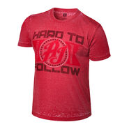 AJ Styles Hard to Follow Acid Wash T-Shirt