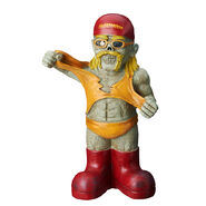 Hulk Hogan Collectible Zombie Figure