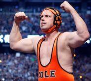 Michael-cole in wrestlemania 27