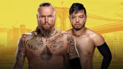NXT Brooklyn III Black v Itami