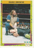 1995 WWF Wrestling Trading Cards (Merlin) Duke Droese 103