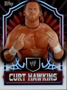 2011 Topps WWE Classic Wrestling Curt Hawkins 14