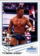 2013 WWE (Topps) Tyson Kidd 80