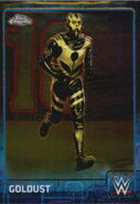 2015 Chrome WWE Wrestling Cards (Topps) Goldust 31