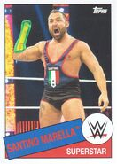 2015 WWE Heritage Wrestling Cards (Topps) Santino Marella 91