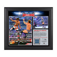 Chris Jericho WrestleMania 32 15 x 17 Framed Ring Canvas Photo Collage