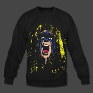 Ultimate Warrior Crash The Plane Sweatshirt