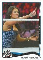 2014 WWE (Topps) Rose Mendes 85