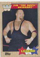 2017 WWE Heritage Wrestling Cards (Topps) Jim Neidhart 79