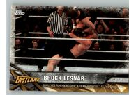 2017 WWE Road to WrestleMania Trading Cards (Topps) Brock Lesnar 29