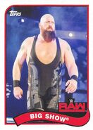 2018 WWE Heritage Wrestling Cards (Topps) Big Show 13