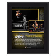 Adam Cole NXT TakeOver XXV 10 x 13 Commemorative Plaque